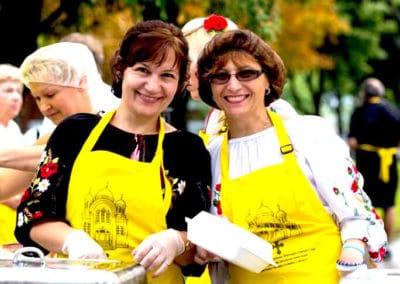Montreal-Ukrainian-Festival-volunteers